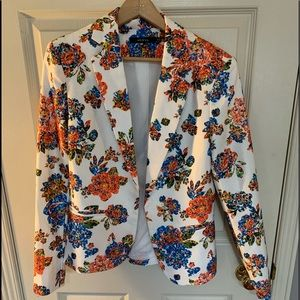 Ark & Co Floral Blazer S Small
